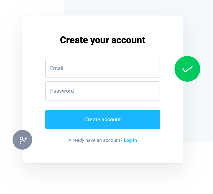 create an account to buy cryptocurrency